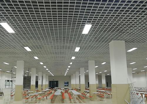 铝扣板-学校食堂