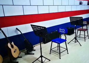聚酯吸音板-音乐教室